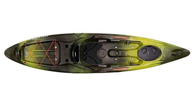 Perception Pescador 12 sit-on fishing kayak