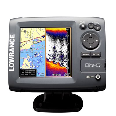 lowrance elit 5 fish finder